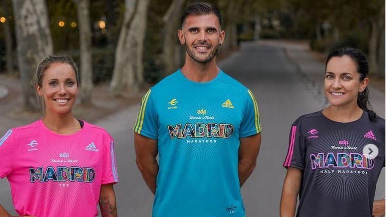 Recogida de dorsal, camiseta y bolsa del corredor del Maratón de Madrid