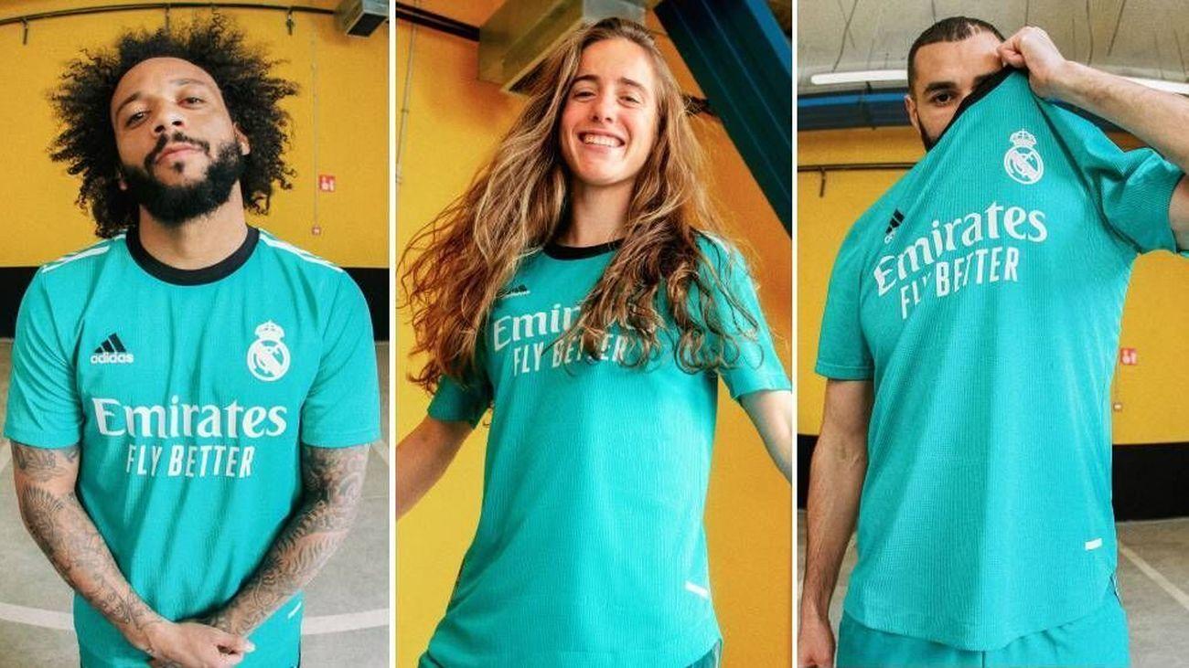 Real Madrid presenta la tercera equipación inspirada en placa del Kilómetro Cero