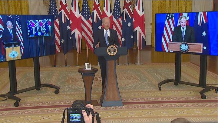 EEUU, Reino Unido y Australia plantan cara a China en el Pacífico