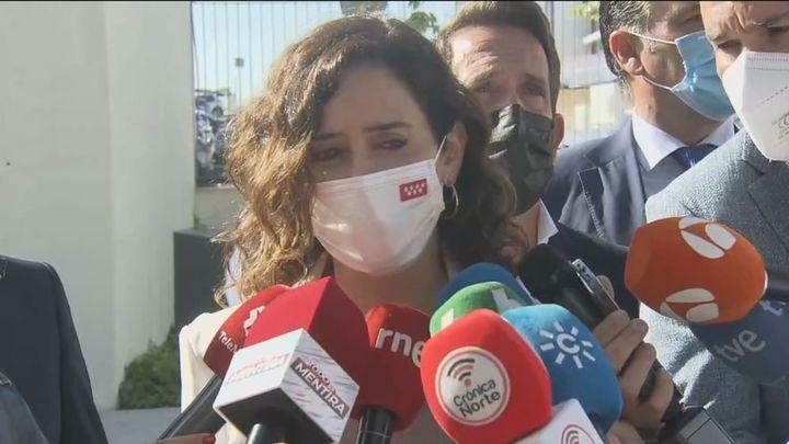 """Ayuso defiende la unidad del PP y su relación con Almeida que es""""muy positiva"""""""