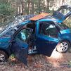 Un muerto y una herida grave al  chocar su coche con un árbol en la M-604 en Rascafría