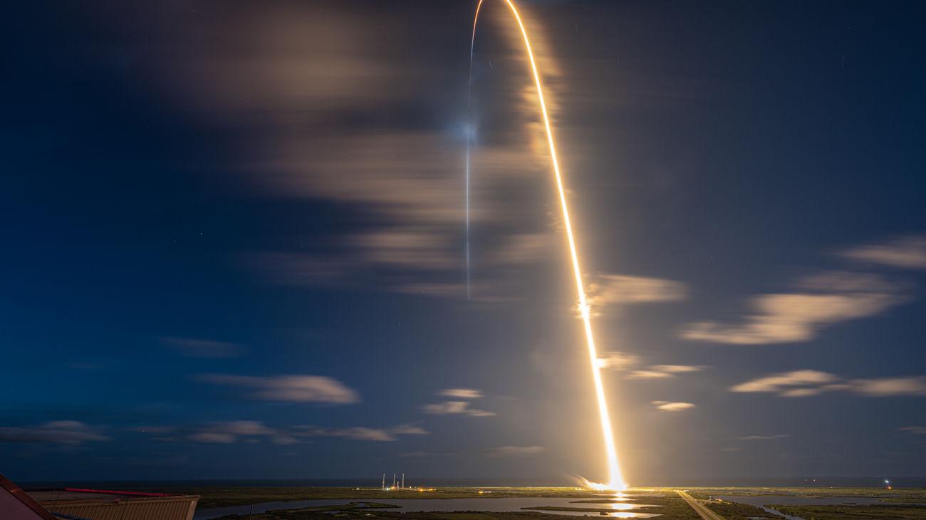 Un vuelo de Iberia 'se cruza' con la misión Inspiration4 de SpaceX