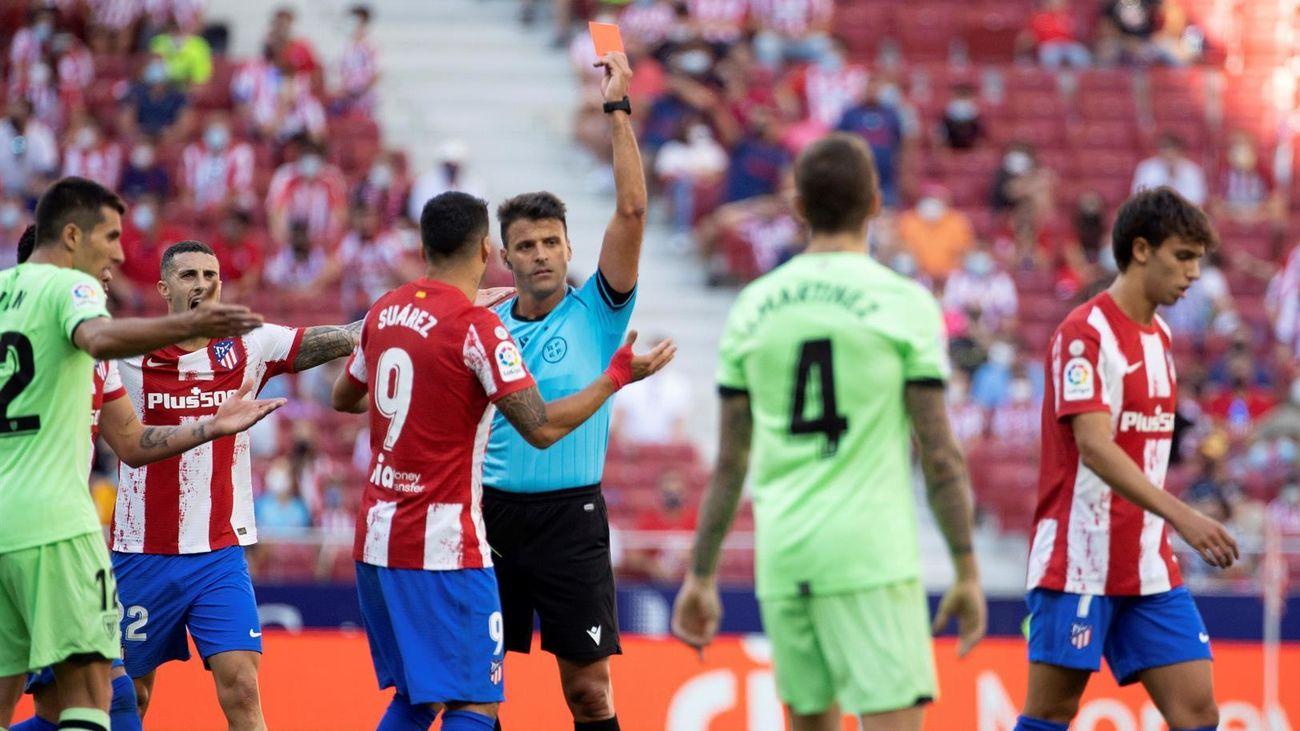 0-0. El Atlético se atasca contra el Athletic