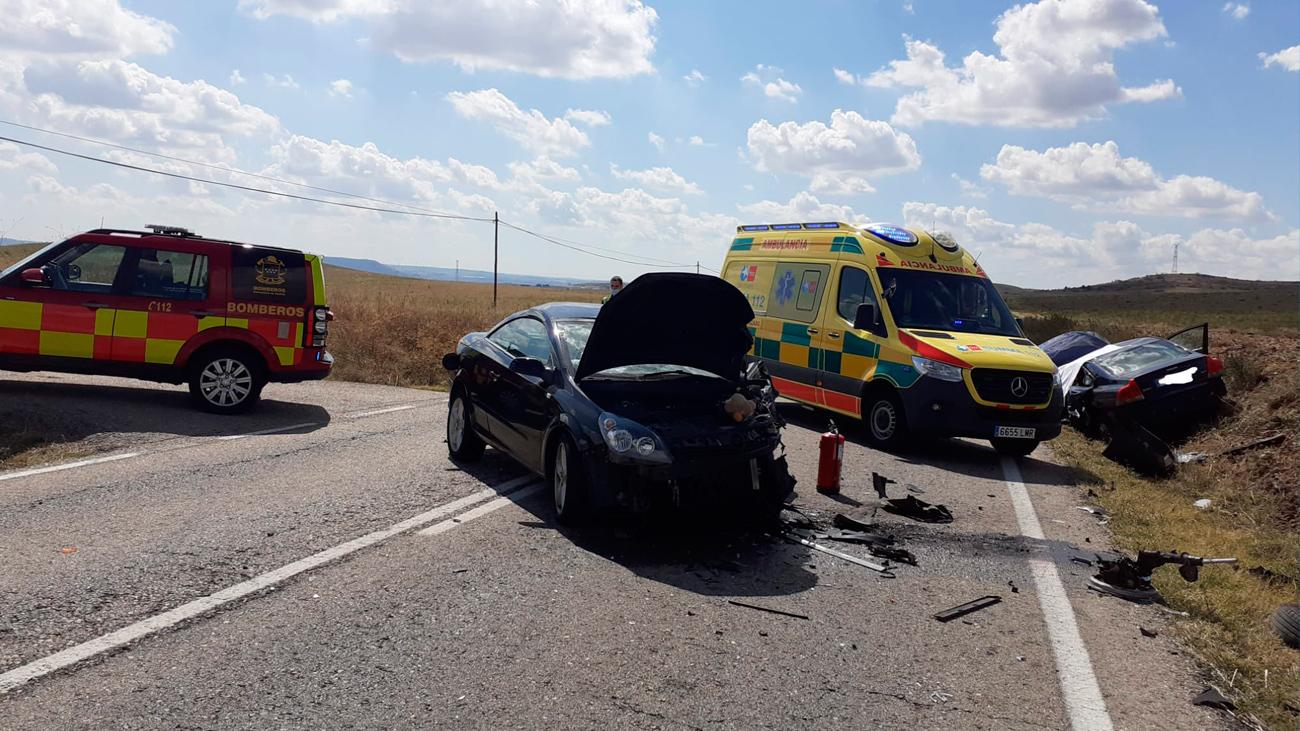 Un muerto y un herido en un accidente de tráfico en Daganzo