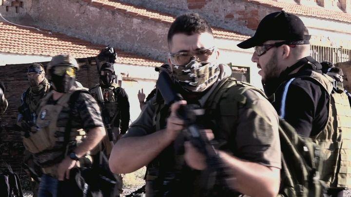 Llega el juego de estrategia y simulación con réplicas de armas a Morata de Tajuña