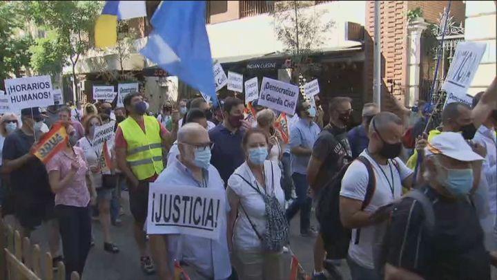 La Guardia Civil se echa a la calle para exigir mejoras laborales