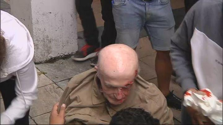 Tensión en Mondragón con enfrentamientos de proetarras hacia miembros de Vox