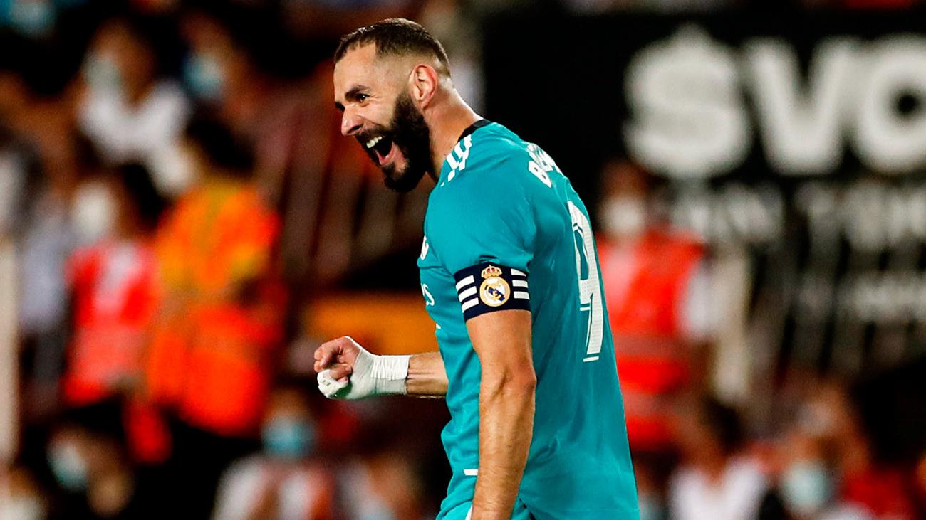 1-2. El Madrid remonta contra el Valencia en los últimos momentos