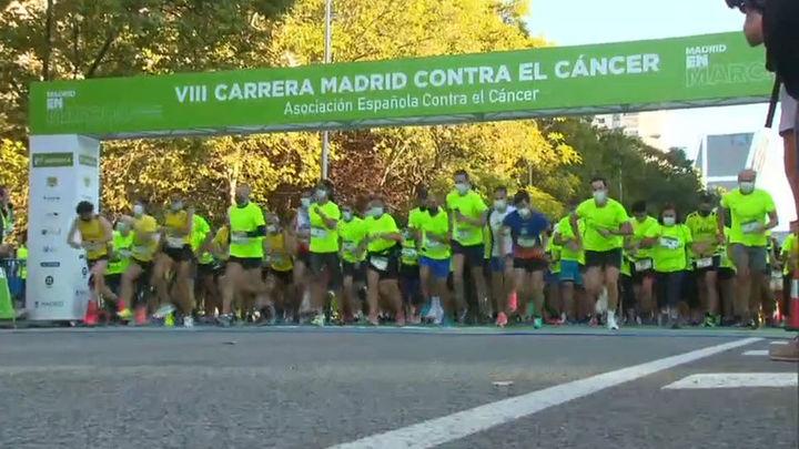Más de 7.000 personas participan en la carrera contra el cáncer en Madrid