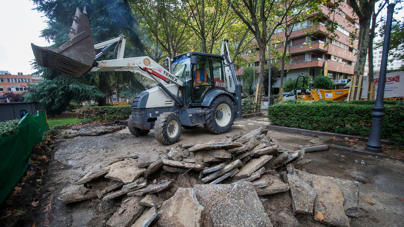 Comienza la reforma de la calle Basílica en Madrid