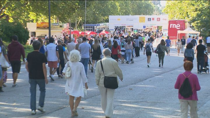 Éxito rotundo de la Feria del Libro a una semana de su clausura