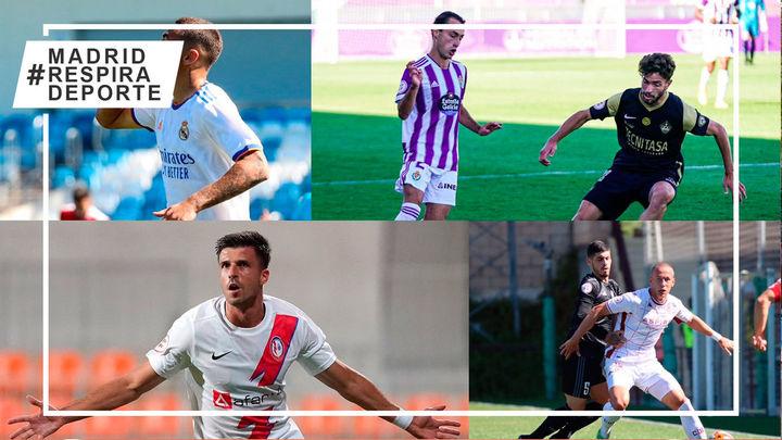 Victorias del Castilla, DUX y Rayo Majadahonda; empate del Sanse