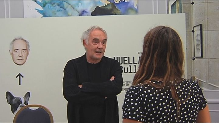 Ferrán Adrià presenta en el Festival de San Sebastián el documental 'Las huellas de elBulli'