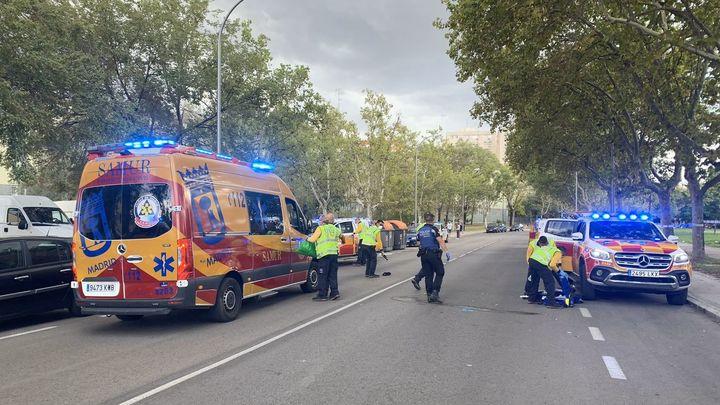 Un hombre en estado grave al ser arrollado por un coche en San Blas