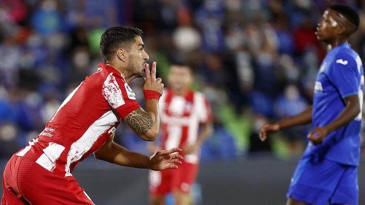 1-2. Un doblete de Luis Suárez acaba con un Getafe que le plantó cara