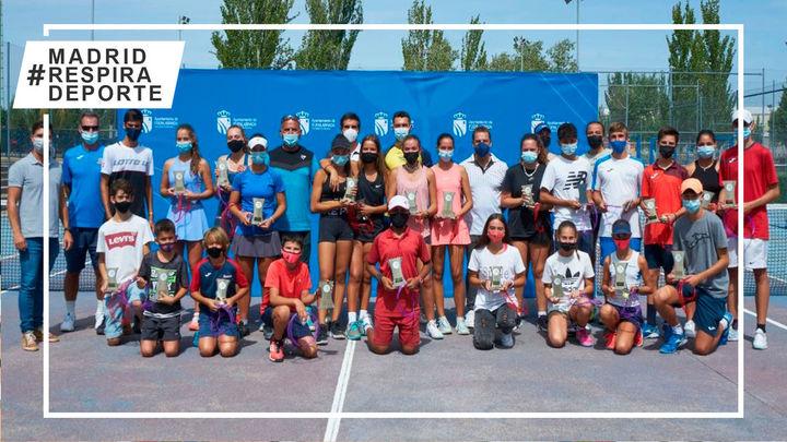 Éxito del Open de Tenis Fiestas de Fuenlabrada