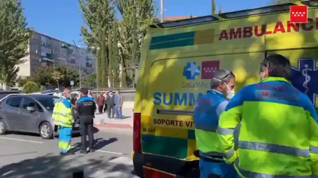 Atropellado un menor en la avenida de Aragón de Getafe
