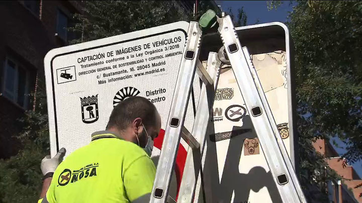 Madrid Central da paso a Distrito Centro que entra en vigor este miércoles