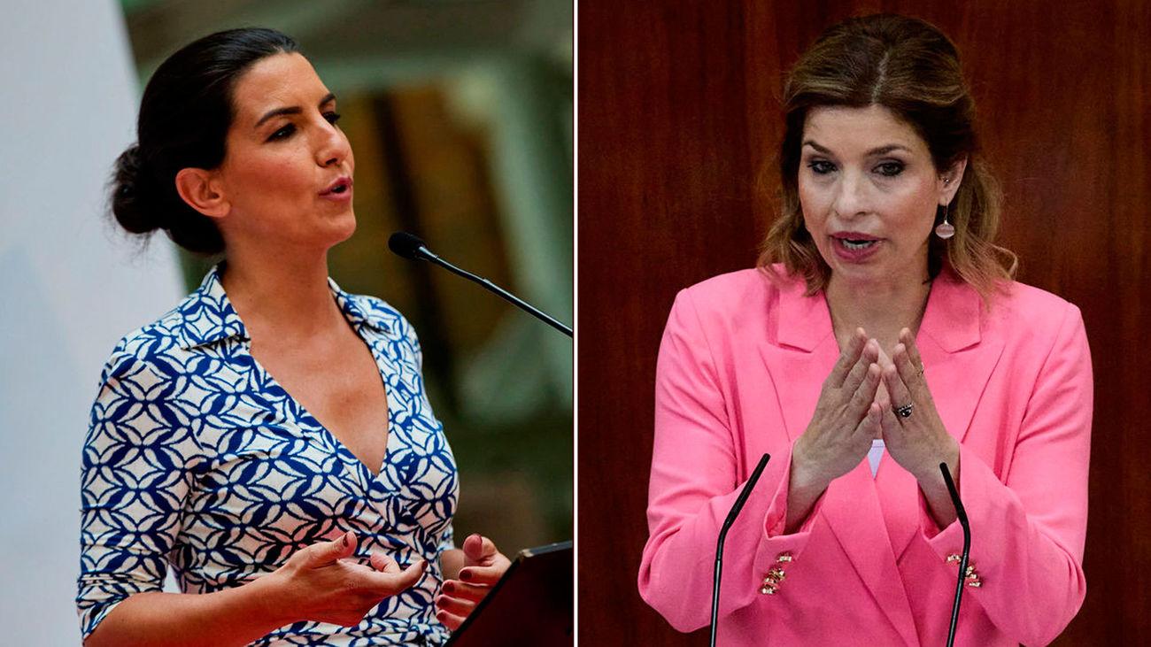 Rocío Monasterio y Hana Jalloul debaten sobre la actualidad de Madrid