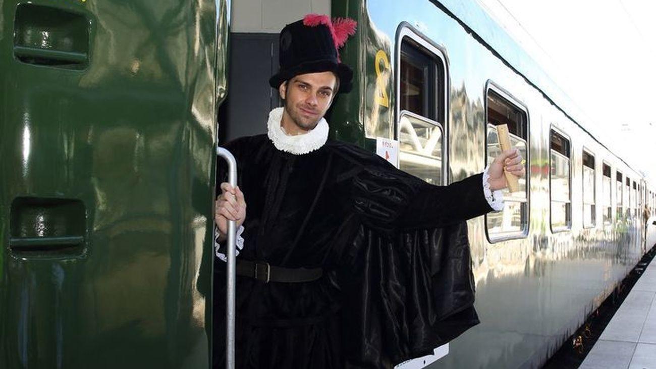 El tren de Felipe II reanuda sus viajes este fin de semana