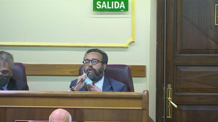 """Lío en el Congreso después de que Sánchez García (Vox) llamase """"bruja"""" a una diputada del PSOE"""