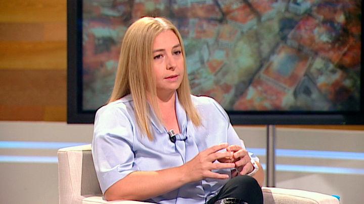 Inmaculada Sanz, portavoz del Ayuntamiento de Madrid y delegada de Seguridad y Emergencias del Ayuntamiento de Madrid