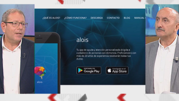'Alois', una aplicación pionera en España, ayuda a los cuidadores de personas con Alzheimer