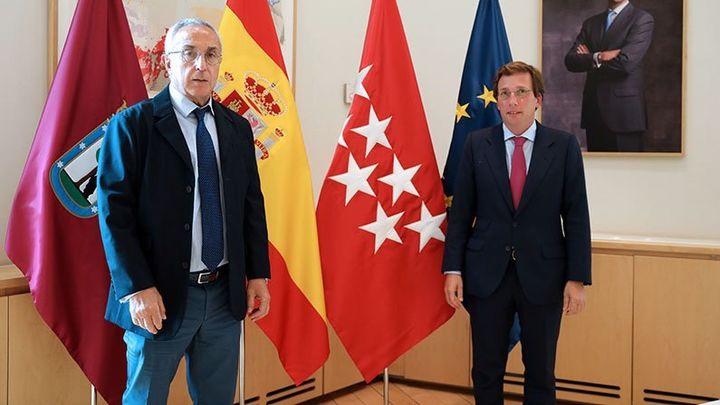 Almeida y Blanco se reúnen para convertir Madrid, algún día, en sede olímpica