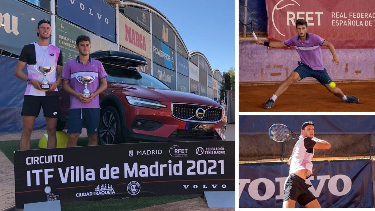 El italiano Luca Nardi se hace con el título del ITF Villa de Madrid