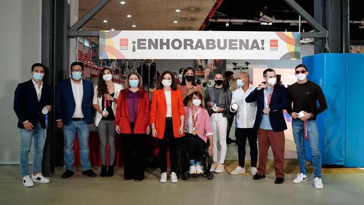 Emotivo homenaje a los deportistas madrileños que participaron en Tokio