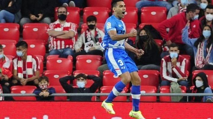 Momentazo en Onda Madrid con el gol de Falcao que dio la victoria al Rayo en San Mamés