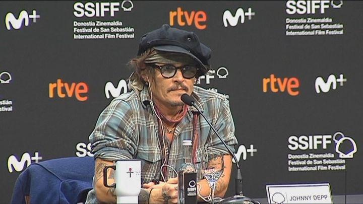 Johnny Depp acude a San Sebastián para recoger el premio Donostia