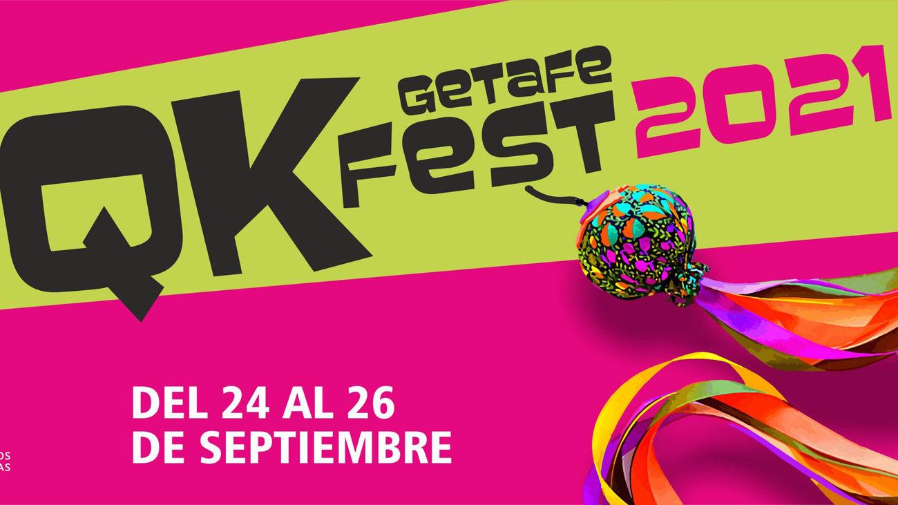 Getafe se llena de actividades en la calle con QKfest