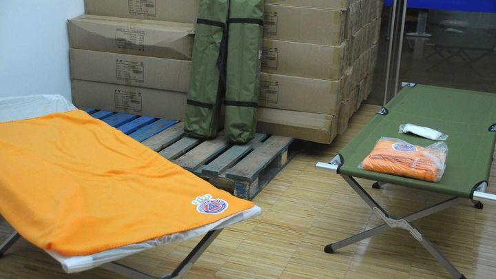 Boadilla envía 50 camas plegables y productos de higiene a los afectados por el volcán de La Palma