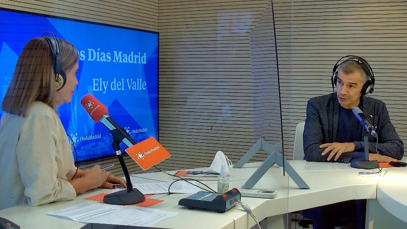 """Toni Cantó: """"Madrid se ha convertido en la gran marca de este país y esto es algo que también se percibe fuera de España"""""""