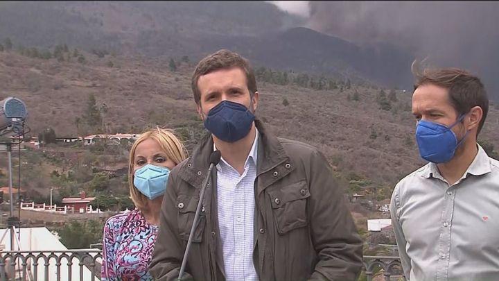 """Casado pide """"unidad de acción"""" y ayudas inmediatas ante la situación de emergencia de La Palma"""