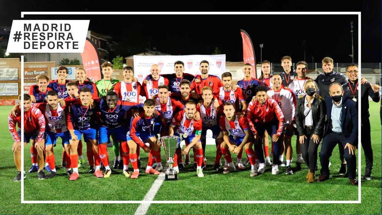 El Navalcarnero jugará la fase de nacional de la Copa RFEF tras ganar a Las Rozas