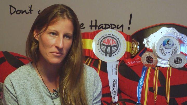 Elena Goggin, la bicampeona del mundo en K1 de Pozuelo