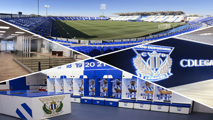 El Leganés ofrece una visita virtual por el estadio de Butarque