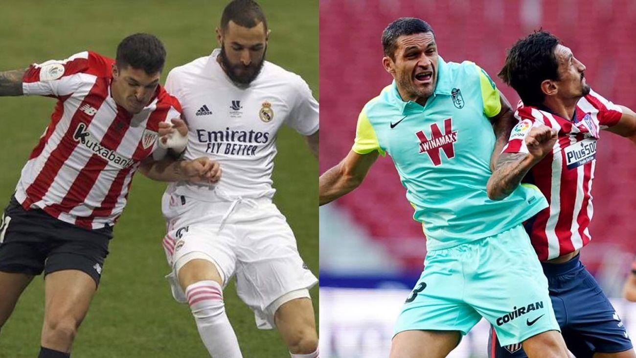 LaLiga pide aplazar el Real Madrid-Athletic y Granada-Atlético de la novena jornada