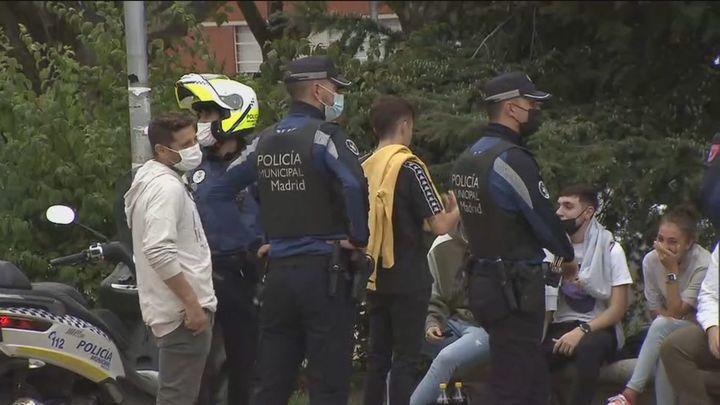El despliegue policial frustra el botellón de la Complutense