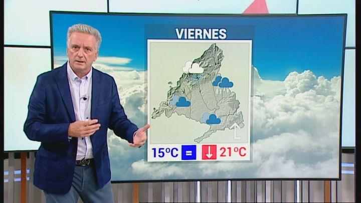 Alerta amarilla en Madrid por tormentas desde las 22.00 h de este jueves y durante todo el viernes