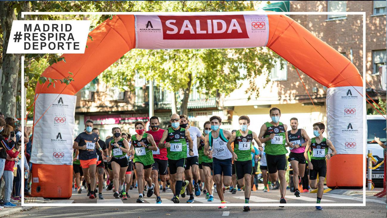 Alcalá recupera la Legua Popular del Val tras dos años de ausencia por la pandemia