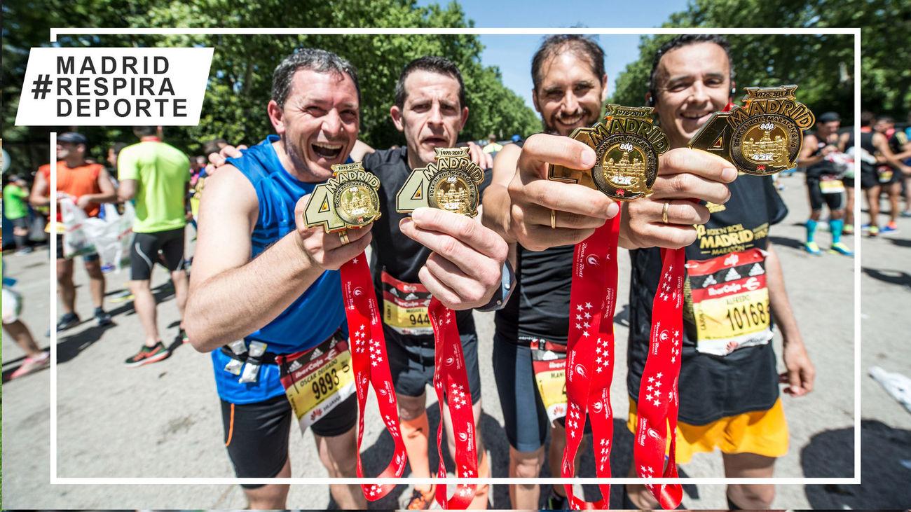 El Maratón de Madrid, el evento más masivo desde el inicio de la pandemia