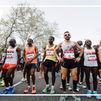 Cinco hombres sub 2:10 y siete mujeres sub 2:30, cabeza de cartel en el Maratón