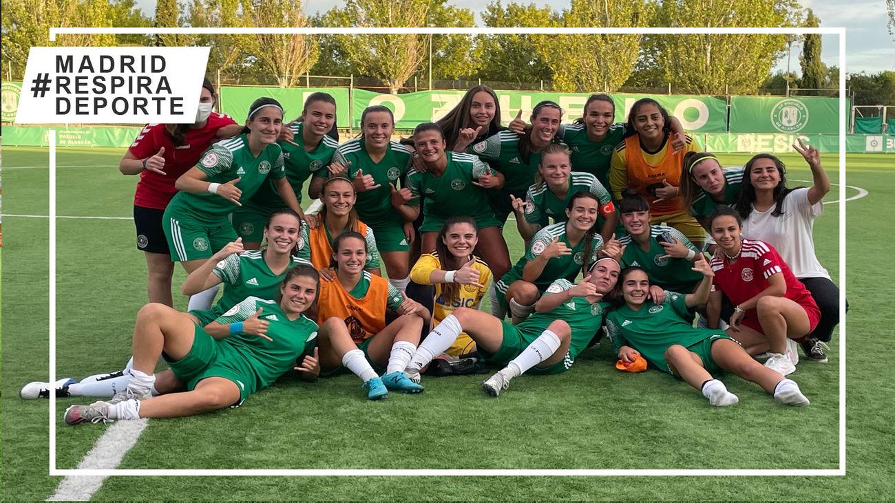 El Pozuelo femenino debutará en la Copa de la Reina ante el Deportivo Abanca