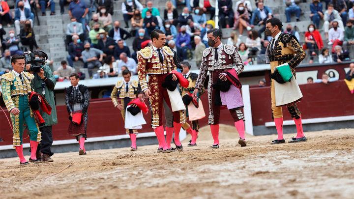 La primera corrida de la Feria de Otoño aplazada al 8 de octubre por la lluvia y el estado del ruedo