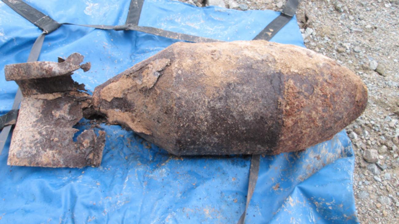 Desactivan una bomba de aviación de la Guerra Civil en unas obras de Aravaca