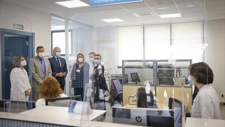 El nuevo centro de salud de la Guindalera es seis veces mayor y cuenta con una línea de la EMT