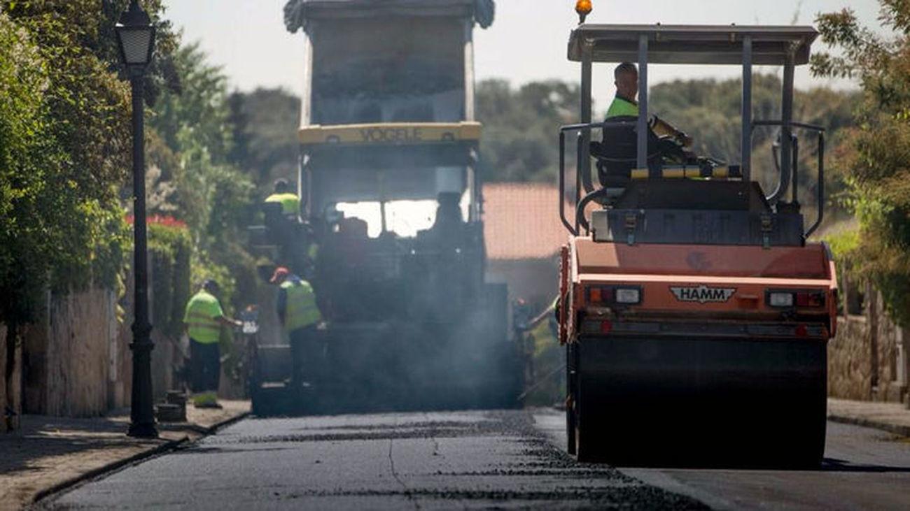 Cortes en la M-614 en Guadarrama por obras de mantenimiento